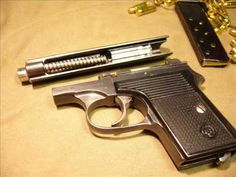 CZ-45 6.35 browning /25 AUTO - YouTube