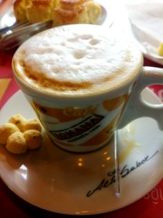 Brazilian coffee at Roma bakery in Campinas