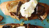 Burrata and Wild Mushroom Bruschetta Recipe | Wine Pairing | Gold Medal Wine…