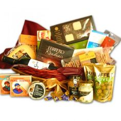 Premium Wine and Cheese Basket to South-Africa