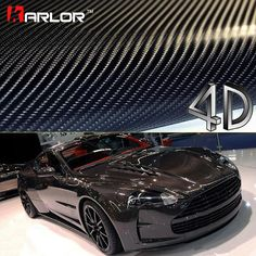 Car Styling 4D Carbon Fiber Vinyl Film 3M Car Stickers And Decals