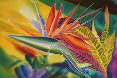 Наташа Фуко - бывшая москвичка, а теперь живет и творит в Америке. За свои работы она трижды удостаивалась высшей награды SPIN (Silk Painters International), это аналог Оскара в художественном мире. Надо сказать, за всю историю существования этого смотра, высшая награда присуждалась всего 12 раз. Наташа разработала свой собственный метод росписи шелка, он называется signature technigue.