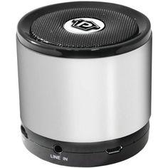 "Pyle Home Bluetooth(R) Mini Speaker (Silver) ""Product Type: Wireless Speakers/Bluetooth Speakers"". WIRELESS SPEAKERS. BLUETOOTH SPEAKERS."