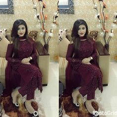 #pintrest@Dixna deol Stylish Dresses For Girls, Simple Dresses, Beautiful Dresses, Casual Dresses, Prom Dresses, Pakistani Dresses, Indian Dresses, Indian Outfits, Pakistani Suits