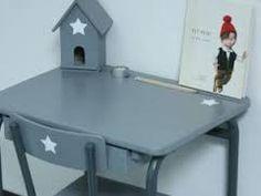 Pupitre d écolier double en chêne d école pour enfants bois