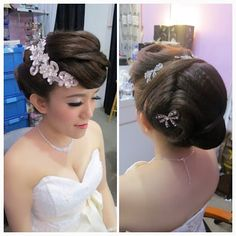Phenomenal Wedding Hairstyles And Wedding Dinner On Pinterest Short Hairstyles Gunalazisus