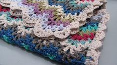 Ravelry: lambblanchland's Scrappy Vintage Baby Blanket