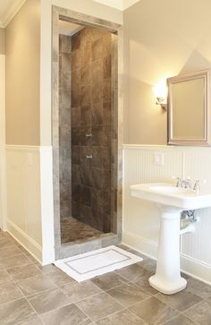Small Shower Design small doorless shower designs | doorless shower dimensions