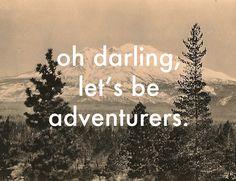 Vintage Adventurers Print - shall we?