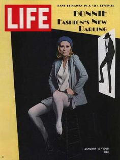 """Faye Dunaway ~ Jan. 12, 1968 issue ~ ~ Old Life Magazines ~ Click image to purchase. Enter """"pinterest"""" at checkout for a 12% discount."""