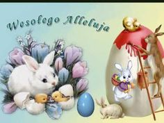 Wesołego Alleluja - YouTube Happy Easter Everyone, Diy And Crafts, Christmas Ornaments, Holiday Decor, Cards, Pray, Celebrations, Holidays, Humor
