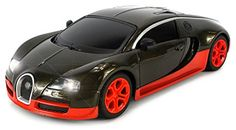 Diecast Bugatti Veyron Super Sport Remote Control RC Car Metal Body 124 Scale Ready To Run RTR w Working Headlights Colors May Vary *** Check this awesome product by going to the link at the image.Note:It is affiliate link to Amazon.