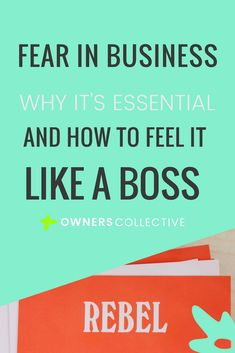 Fear is a natural part of business, especially when you're moving and shaking things up! Here's the low-down on feeling fearful in business, and how to feel it, like the boss that you are. https://theownerscollective.com/blog/fear-business-essential/