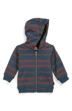 Quiksilver 'Brodes' Fleece Lined Hoodie (Baby Boys) | Nordstrom