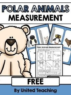 The Polar Animals Measurement learning center provides children with the opportunity to practice measuring Polar animals using units of measurement.