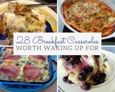 In need of an easy breakfast recipe? Then these insanely delicious breakfast casseroles are your answer. We promise you won't regret waking up before 9am for these delicious recipes this...
