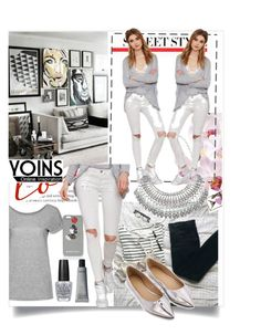 """""""Yoins 4."""" by lillili25 ❤ liked on Polyvore featuring Markus Lupfer, OPI, yoins and yoinscollection"""