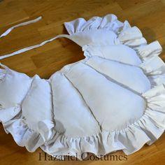 18th century false rump, undergarment for pettycoat support.