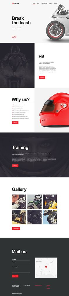 Bikes Driving School #Muse #template. #themes #business #webtemplates