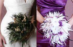 feathers on weddings