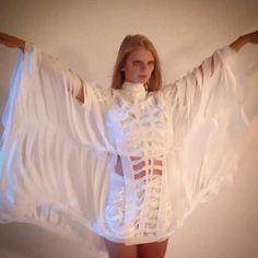 Diseño de indumentaria Backstage próximo #fashionfilm #Eamoda 2015 diseño #eamodalab #calado láser