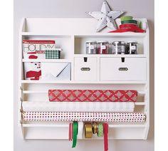 wall mounted craft organisor