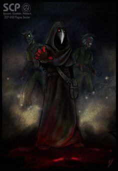 SCP-049 Plague Doctor by Klar-Jezebeth on DeviantArt