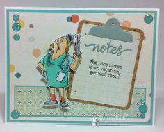 Kards By Krash Scrapper: Get Well Nurse