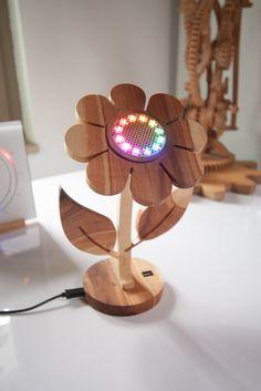 Nachtlicht mit Multicolor LED Ring.