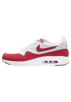Nike Sportswear AIR MAX 1 ULTRA ESSENTIAL Sneaker low white/varsity red/natural grey für Herren -