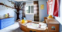 From cheerful colors to smart storage ideas, these clever design and decorating ideas will help you take your little one's bedroom from simple to simply enchanting.