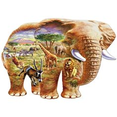 I have just purchased Elephant Savanna from Wentworth Wooden Puzzles - https://www.wentworthpuzzles.com/shop-all-wooden-puzzles/2016-catalogue/561906.htm