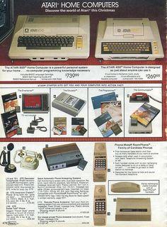 Atari computer ad