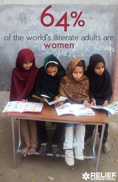 64% of the world's illiterate adults are women. Learn how RI is working to change this and empower girls around the world.
