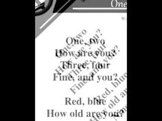 ▶ Etienne - One. Two. How are you? (from the cd Grammar Jams) - YouTube