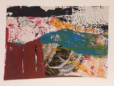 Landscape collage by Sarah Ringrose