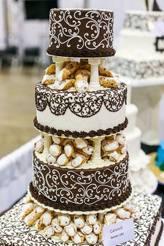 Wedding Inspiration in decor, cakes, flowers & more from the Today's Bride Wedding Show in Cleveland Ohio, bridal show, wedding ideas Diy Wedding Food, Cool Wedding Cakes, Plan Your Wedding, Wedding Vendors, Wedding Ideas, Wedding Themes, Bridal Show, Wedding Show, Wedding Bride