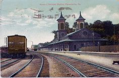 Phoenixville PA , RDG station by Charlie OHay, via Flickr