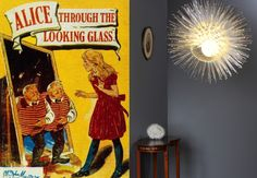 Through The Looking Glass by Lewis Carroll and The Starfire Chandelier by James Lethbridge.