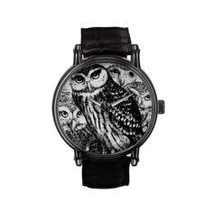 Owls Wrist Watches