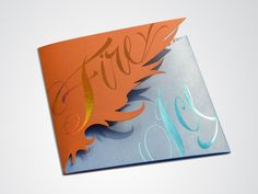 fire and ice invitations - Google Search