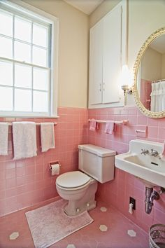 Pink and white. Perfect and cozy. www.PrestigePaints.com