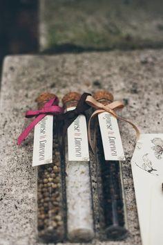 Una romantica ispirazione autunnale, bomboniere, wedding favor, diy,