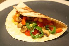 Receta del día: Tacos de verduras