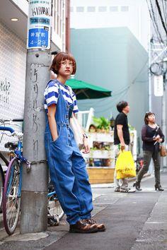 ストリートスナップ [あわつ まい]   GAP, I am I, Lee, used   原宿   Fashionsnap.com