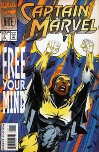 Captain Marvel #1 February 1994 (Direct Edition) one shot