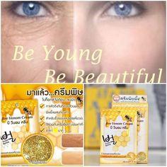 Bee Venom Face Cream Anti Aging Wrinkles Lines Organic Skin Care w/ Gold Powder #Fuji
