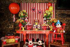 Encontrando Ideias: Festa Mickey e Minnie!