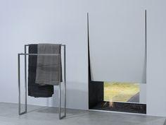 Stainless steel standalone towel rack.. ACCESSORI VARI by Antonio Lupi Design®