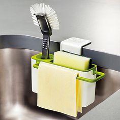 konyhai kefével szivacs mosogató elvezetését törülköző mosás tartó tapadókoronggal edények száraz állványok 4814232 2016 – $8.99